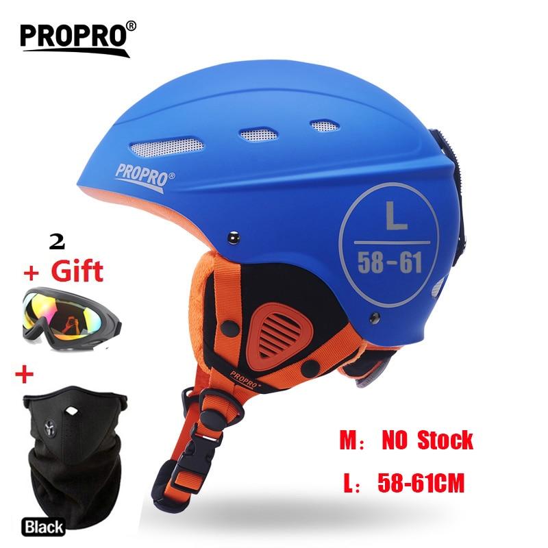 Brand Ski Helmet Arrive in 18 29 days! Skiing Snowboard Helmet Integrally molded Ultralight Breathable Ski Helmets MOON