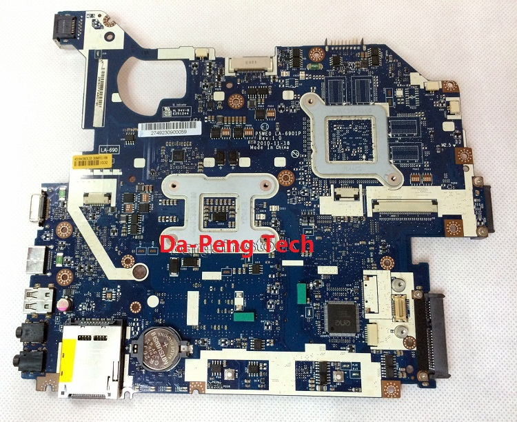 Kefu Mbbyj02001 For Acer 5750 5750g Motherboard P5we0 La 6901p 100  Fully Tested