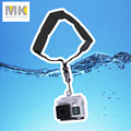 Black Gopro hand wrist strap Camera submersible Floating bobber for Hero 4 3+ 3 2 1 PowerShot D20 D30 mini camcorder sj4000