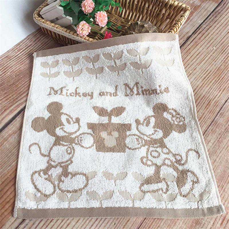 Disney Mickey mouse del cotone fazzoletto bambini della ragazza del ragazzo Del Fumetto spiderman asciugamano asciugamano viaggi asciugamano viso morbido asciugamano regalo 35x35cm