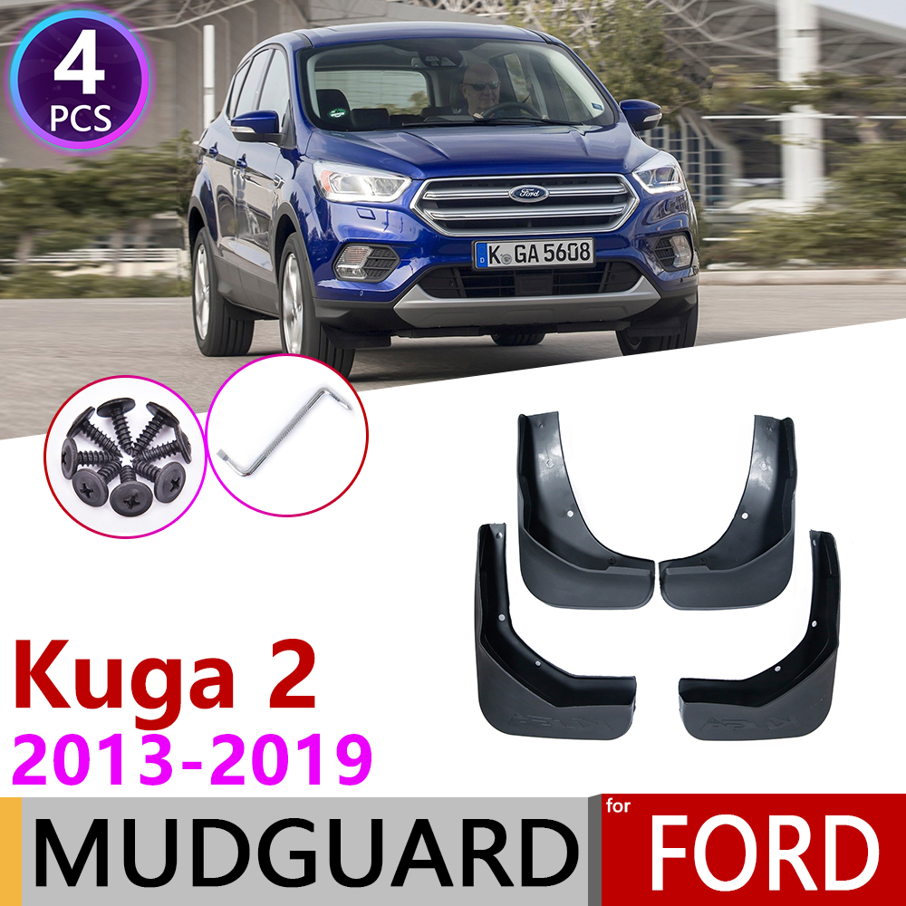 For Ford Kuga Escape 2013~2019 MK2 Fender Mudguard Mud Flaps Guard Splash Flap Mudguards Accessories 2014 2015 2016 2017 2018