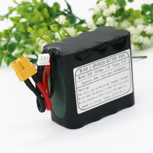 KLUOSI UAV Rechargeable Li-ion Battery 7.4V /8.4V 14Ah 2S4P Use Single Cell NCR18650GA Combination Suitable for Various Drone
