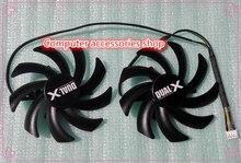 Neue original 85mm Firstd grafikkarte Dual-X Fan Für Sapphire Radeon HD6970 HD7850 HD7870 HD7950 HD7970 FD7010H12S 12 V 0,35A