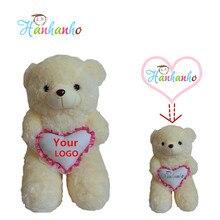 Hanhanho 80cm Customize Teddy Bear Personality Stuffed Animal Unique Birthday Gift Children Christmas Present