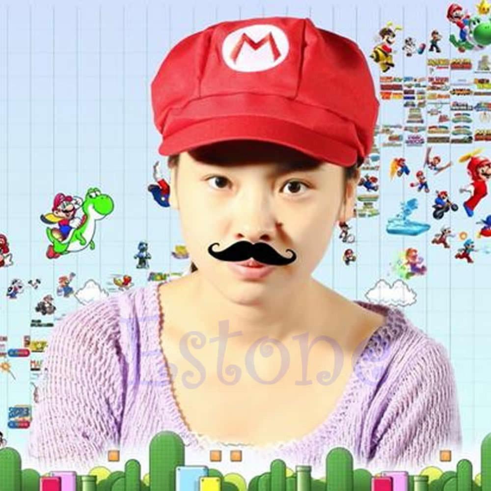 2018 Nueva Moda Super Mario Bros Tamaño Adulto Cosplay Traje de - Accesorios para la ropa - foto 5
