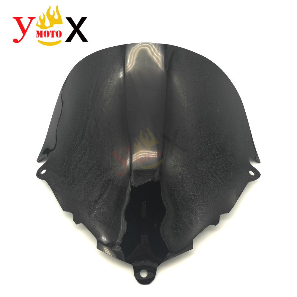 Motorcycle Black ABS Windscreen Windshield Deflector Airflow For <font><b>Suzuki</b></font> Katana 600 750 <font><b>GSX600F</b></font> GSX750F 1998-2008 <font><b>1999</b></font> 2000 2001 image
