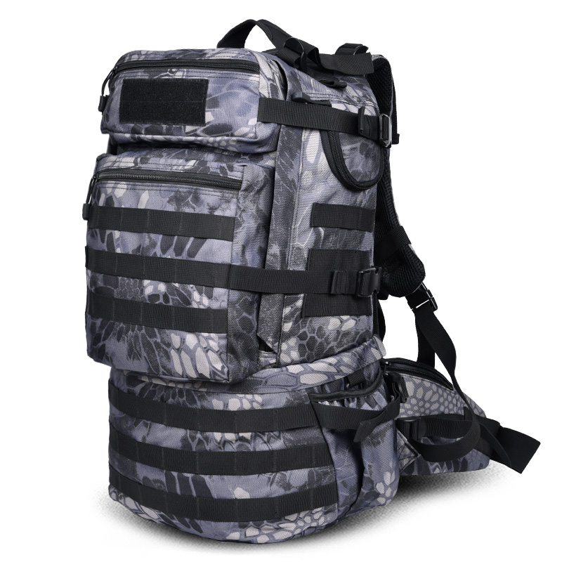 Brand INFEYLAY 55L camouflage mountaineering bags travel Computer package Large capacity Waterproof men business backpack gift 80l professional mountaineering bags large capacity backpack waterproof wear travel bags