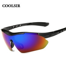 Coolsir Real Promotion Adult Alloy Men Goggle 2017 Fashion Style Men's Wise Choice Of Sports Quality Polarized Sunglasses  P8501