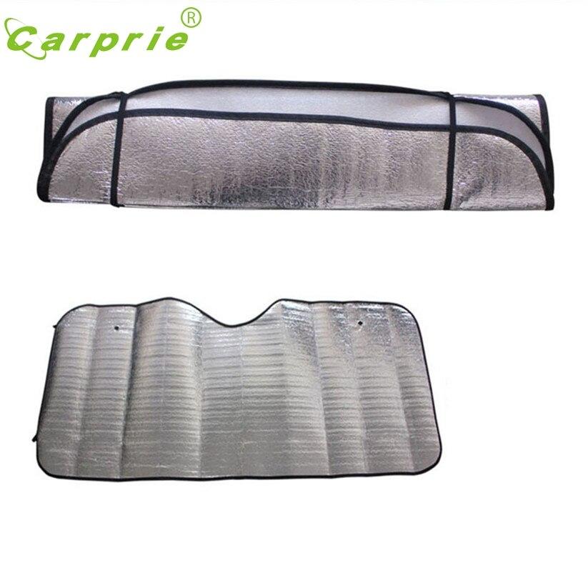 Car-styling Car-Covers Ja Solar Sun Protection Car Windshield Visor Cover Front Rear Block Window Sun Shade td6 dropship