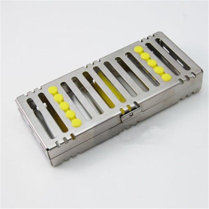 A0170 Dental Sterilization Cassette Rack Tray Box for 5 Dental Surgical Instruments sterilization cassette rack disinfection tray box hold 5 dental instruments