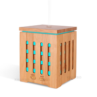 KBAYBO 200ml Essential Oil Diffuser Ultrasonic Aroma Therapy Diffusers With 7 LED Colorful Lights And Waterless