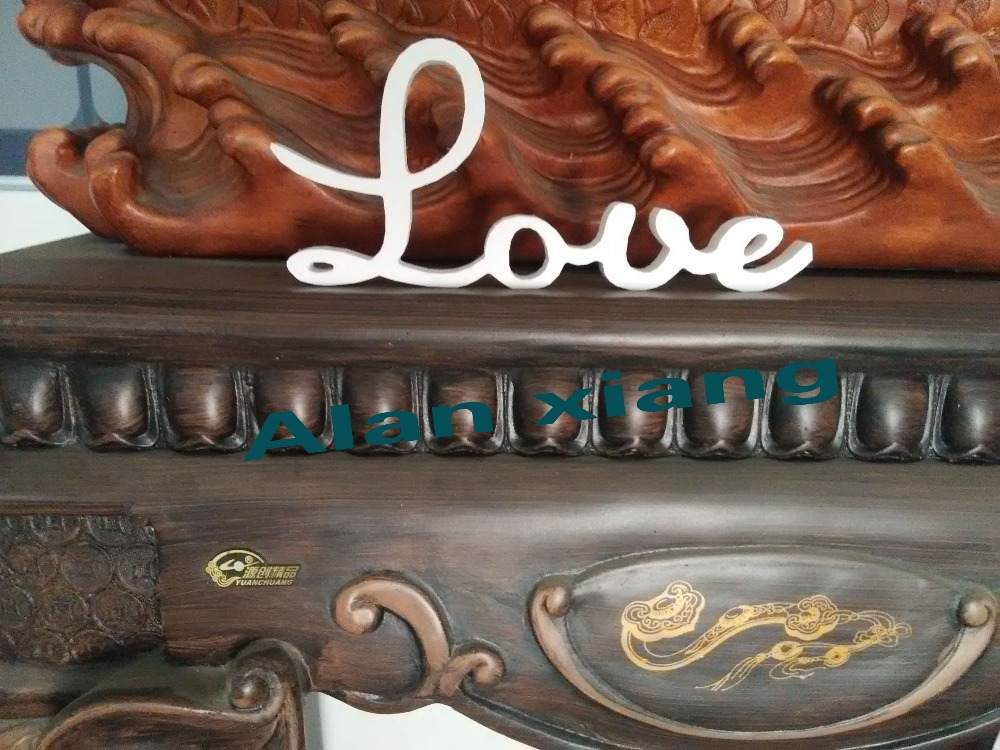 free shipping  Love sign wooden wall decor wedding or home decoration interior signs natural wood letters