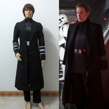 Star Wars The Force Awakens General Hux Cosplay Costume Suit Full Set Halloween Cosplay Costume