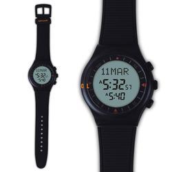 Azan Watch 6506 Islamic Qibla Watch With Prayer Compass Muslim Watch Best islamic gifts Black Color 1pc