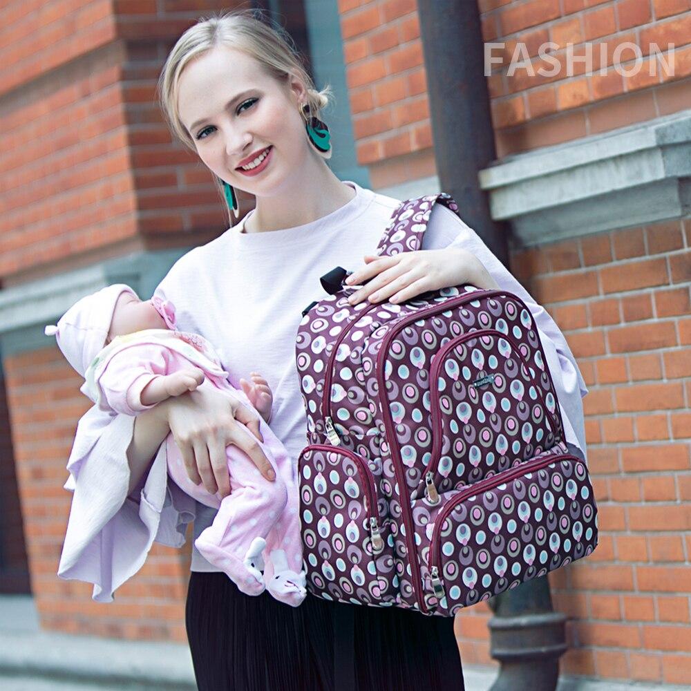 Diaper Bag Backpack for Mom Waterproof Baby Stroller Bag Women Bag Travel Backpack Mummy Maternity Nappy Bag Mochila Maternidade