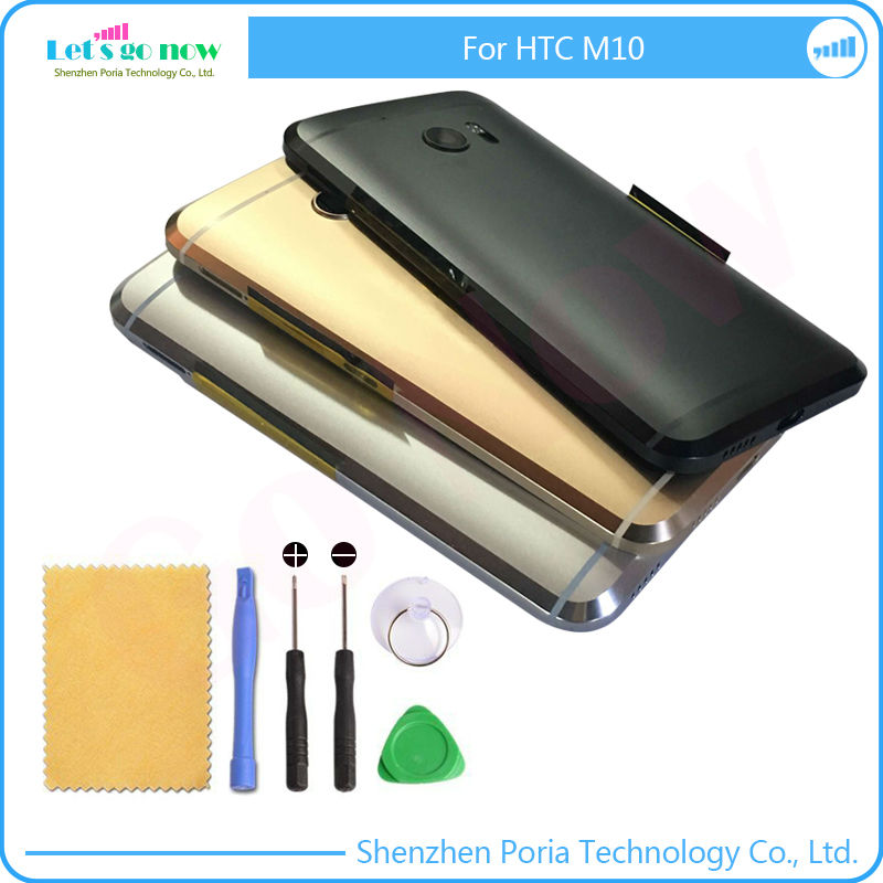 New Replacement Parts For HTC One M10 Housing font b Door b font Back Battery Cover