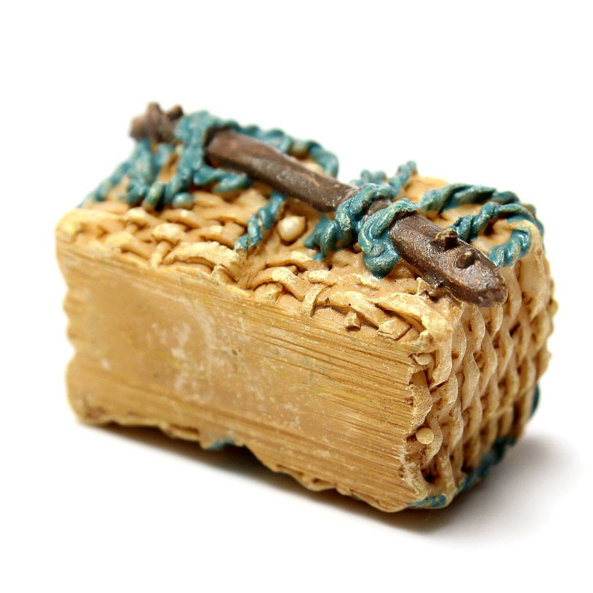 Miniature Dollhouse Ornament Pot Plant Craft Home Decor Wicker Gift Baskets AD