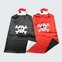 kids boys pirate costume cosplay costumes set for boy halloween costumes Pirates of Caribbean play Birthday cape