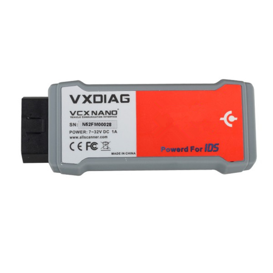 Newest VXDIAG VCX NANO for FD/MA 2 in 1 IDS V100.01 with Multi Language Better Than VCMI ...