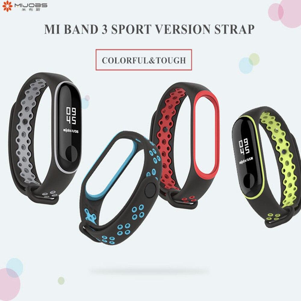 Mi Band 3 Strap Bracelet wrist strap watch For Mi band3 accessories smart bracelet sport Silicone Strap for mi band 4 2