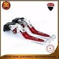 Para DUCATI Diavel/Carbon 1199 899 Panigale Streetfighter S 848 Motocicleta Nova Ajustável Folding Extensível Embreagem Do Freio Leve
