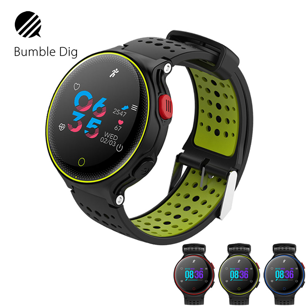 Smart Wristband Watch Waterproof IP68 Heart Rate Monitor Long time Standby Smart Watch Fitness Trackers For IOS Android-in Smart Wristbands from Consumer Electronics    1