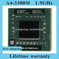 Пожизненная гарантия A4 3300 м 1.9 ГГц двухъядерный ноутбук процессоры ноутбук процессора AM 3300 гнездо FS1 722 контакт. компьютер оригинальный