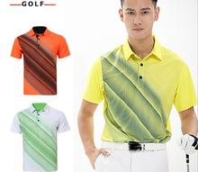 Breathable Short Sleeve T-Shirt Men's POLO Shirt Quick-Dry Golf Shirt