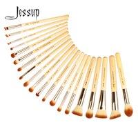 Jessup кисти 20шт красота бамбук Профессиональный набор кистей для макияжа Кисти Набор инструментов основа кисточки для пудры T145