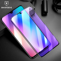 SmartDevil 3D Curved Tempered Glass for Xiaomi Mi 9 Anti Blue Light Full Cover Screen Protector Explosion Proof Protective Film