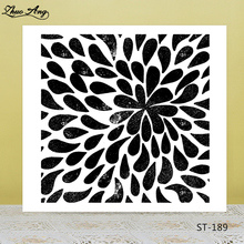 Flower Patterns Clear Silicone Stamp/Seal for DIY Scrapbooking/Photo Album Decorative Card Making Stamps  /Seamless Stamp
