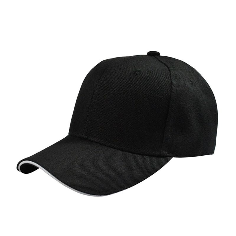 Fashion Cap Women Men Summer Spring Cotton Caps Women Solid Adult Baseball Cap Black White Hat Snapback Women Cap P1 women cap skullies