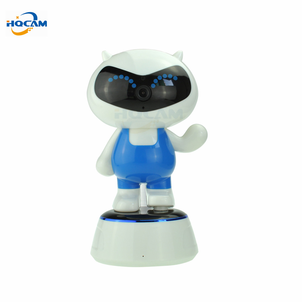 HQCAM 960P 1.3MP WIFI IP Camera Wireless IR-Cut Night Vision Two Way Audio PTZ Surveillance Camera P2P Cloud Mobile APP View