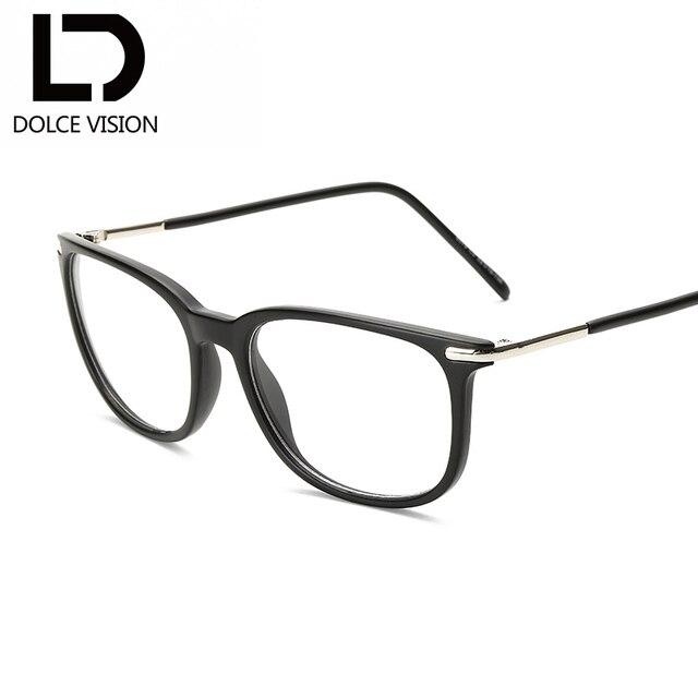 3306072cf7a DOLCE VISION 2018 New Eyeglasses Frame Fashion Female Clear Lens Women  Eyewear Original Brand Square Glasses