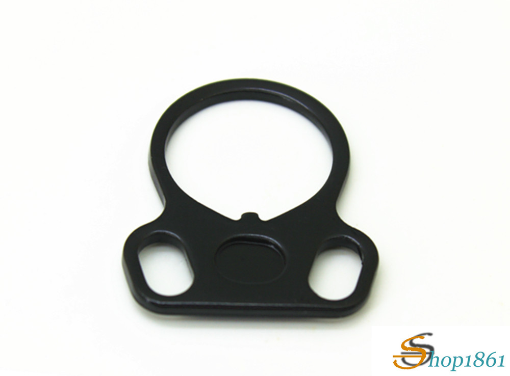 Loop Sling .223 5.56 Rifle Stock Buffer Tube Ambi End Plate Adapter Mount FOR AR-15 M4 RL37-0004