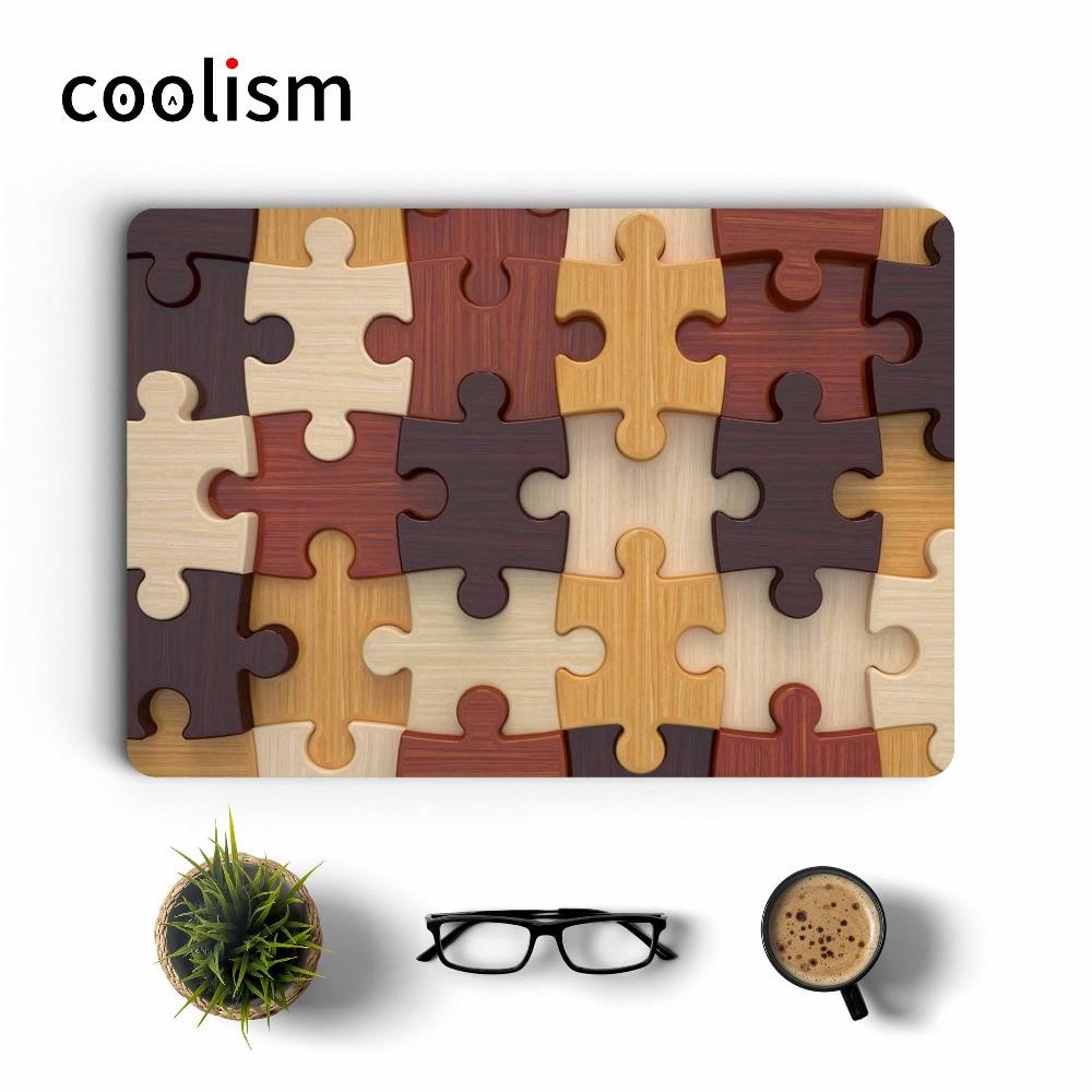 Wood Puzzle Laptop Skin Sticker Decal for font b Apple b font font b Macbook b