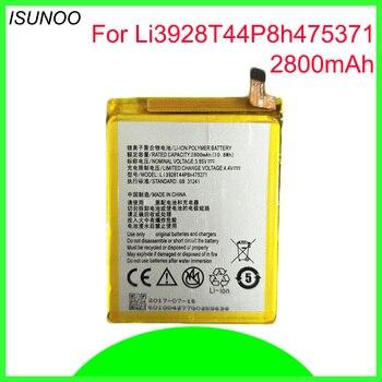 ISUNOO 10pcs/lot Li3928T44P8h475371 Battery for ZTE Blade A1 AXON Mini B2015 C880 C880A C880S Xiaoxian 3 2800mAh