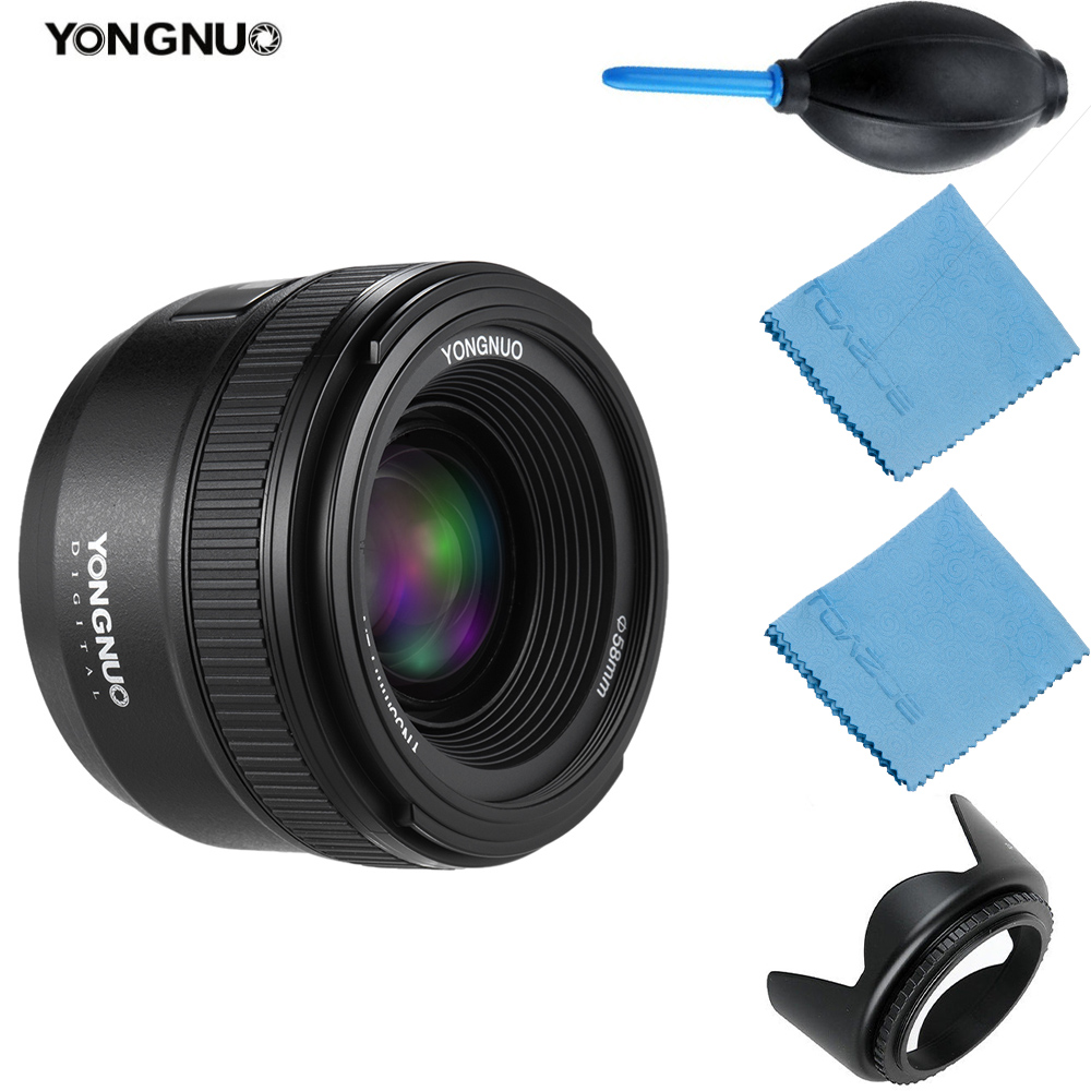 YongNuo EF 35mm lens YN-35mm YN35mm F2 lens Wide-angle Large Aperture Fixed Auto Focus Lens for Canon EOS DSLR Cameras
