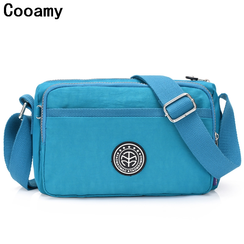 2017 Fashion Designer Ladies Messenger Bag bolsa feminina Female Handbags Waterproof Nylon Womens shoulder Bags Crossbody Bag jinqiaoer women messenger bag ladies crossbody bags for women waterproof handbags nylon large shoulder bag female bolsa feminina