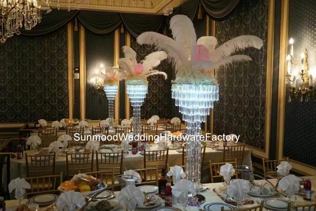 Wholesale Newest Style Come Luxury Tall Floor Candelabra Flower