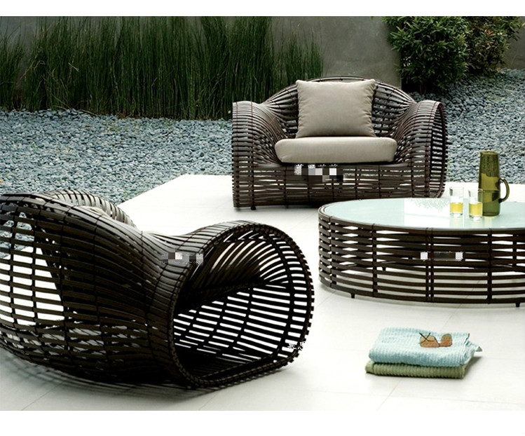 Swell Us 689 7 5 Off New Arrival Quality Patio Furniture Creative Wheel Design Chair Rattan Sofa Sets In Garden Chairs From Furniture On Aliexpress Machost Co Dining Chair Design Ideas Machostcouk