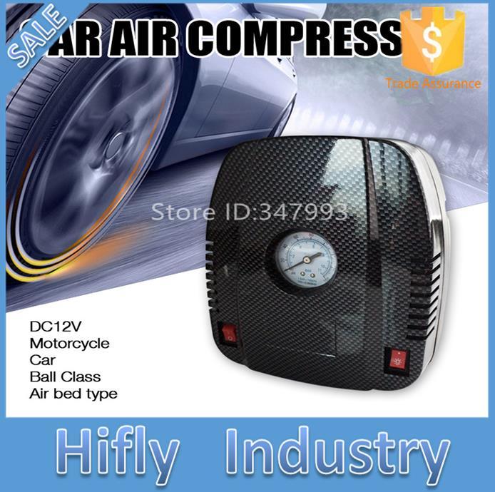 ออโต้คาร์มินิI Nflatorยาง12โวลต์รถยนต์ไฟฟ้าปั๊มอัดอากาศสำหรับยานพาหนะรถยนต์รถปั๊มปั๊มยางลมรถด...