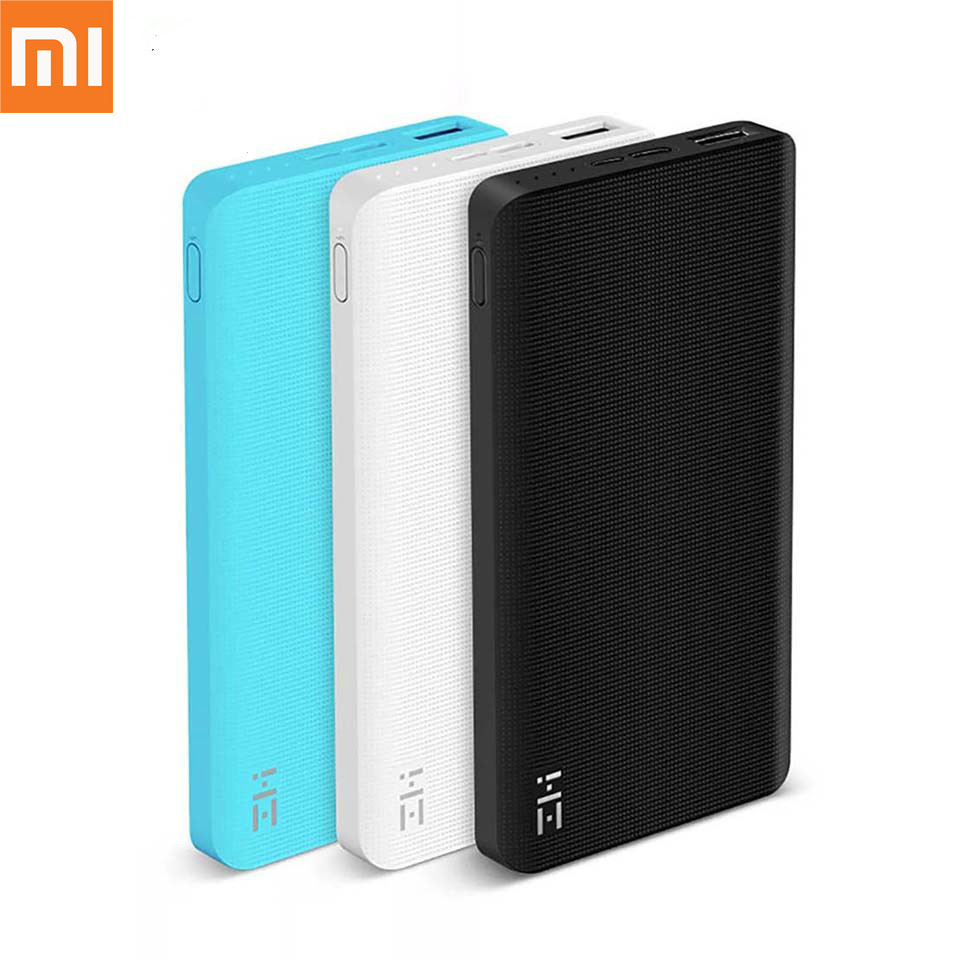 D'origine Xiaomi ZMI 10000 mAh batterie externe batterie externe 10000 mAh portable Charge type-c-way Charge rapide 2.0 pour iPhone