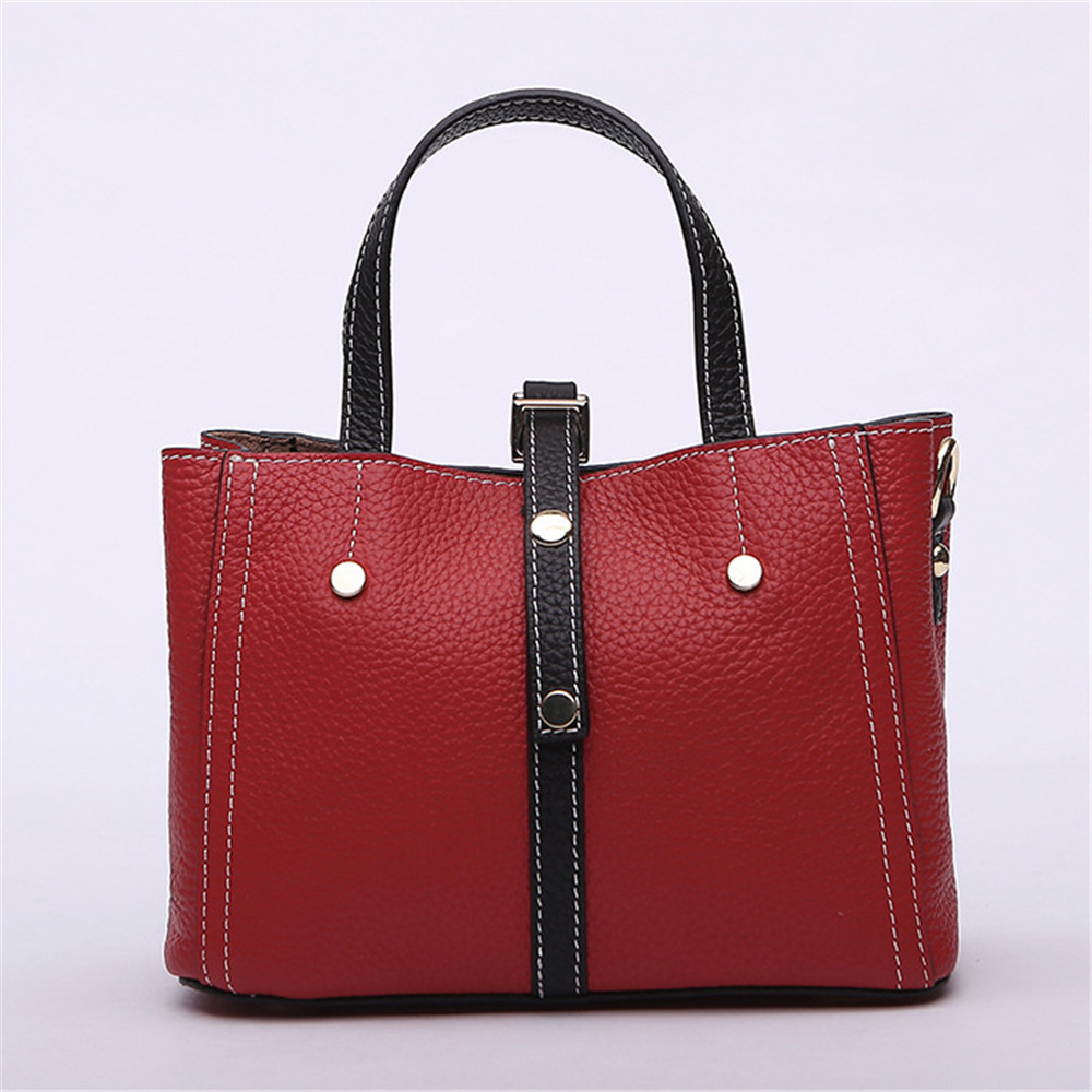 New European and American Style Luxury Brand Design Women Totes Genuine Leather Handbag Crossbody Bag for Lady Bolsa Female women luxury brand design bags genuine leather handbags elegant style sheep skin crossbody bag fashion totes bolsa female