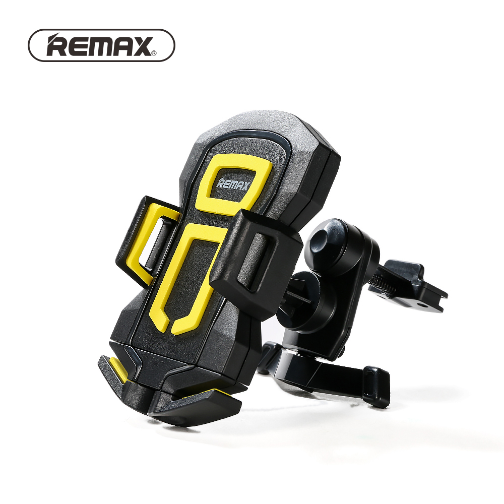 Remax Car Mount Holder Stand Universal Air Vent Mobile Phone Holders Stands Bracket 360 Rotation for Smartphone Under 6.0 inch