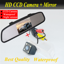 For Chevrolet Aveo 2012 Trailblazer 2012 Cruze Hatchback wagon 2012 Opel Mokka 2012 Cadillas SRX CTS + 4.3″ car  mirror  monitor