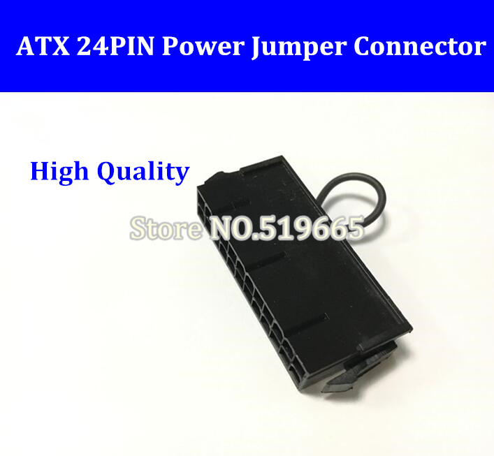 China Wholesale ATX PSU 24pin 24p 2*12pin power supply jumper starter jack adapter connector for server BTC miner machine