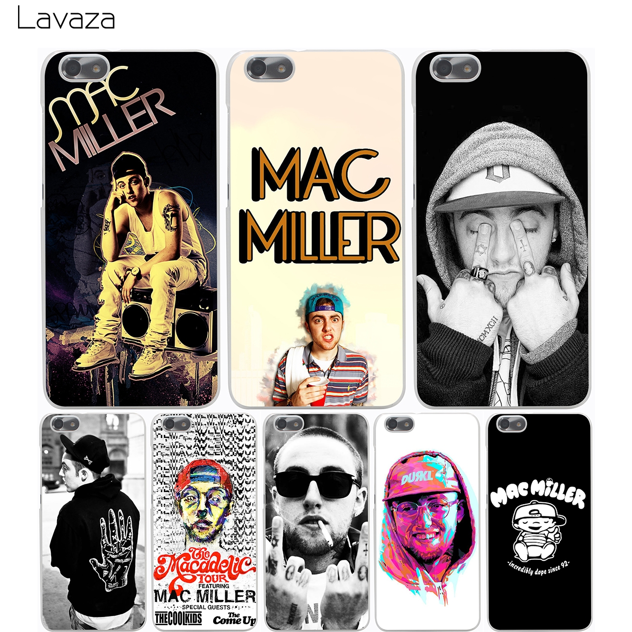Lavaza Mac Miller Case for Huawei Honor 6a 7x 8 9 P8 P9 P10 P20 P Smart Mate 10 Lite Pro Mini 2017 ...