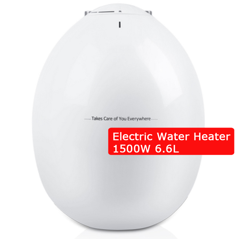Mini Storage Electric Water Heater Kitchen Water Heating Machine 6.6L Circle-shape Saving Space 1500W Safe Hot Water Device 220V