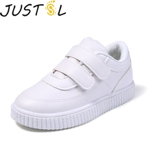 Осенняя новая стильная детская обувь для детей 1-3-6 лет, спортивная обувь для мальчиков, обувь для отдыха для девочек, Белая обувь с мягкой подошвой